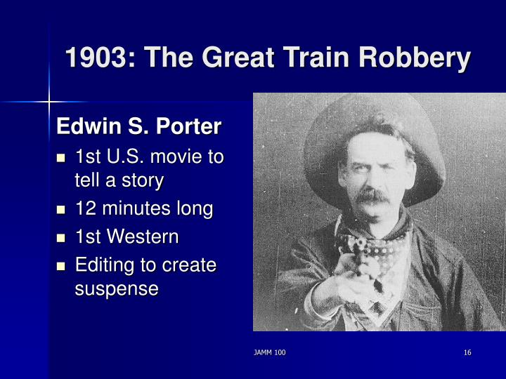 1903: The Great Train Robbery