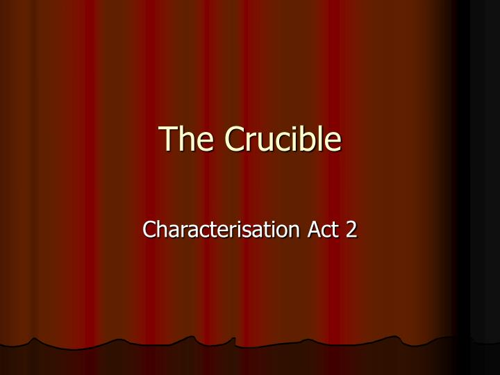 belonging in the crucible essay The crucible essay examples  the struggle in having a sense of belonging to society as portrayed in the crucible, a play by arthur miller  the narratives of.