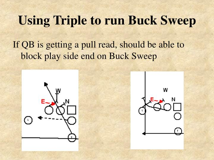 Using Triple to run Buck Sweep