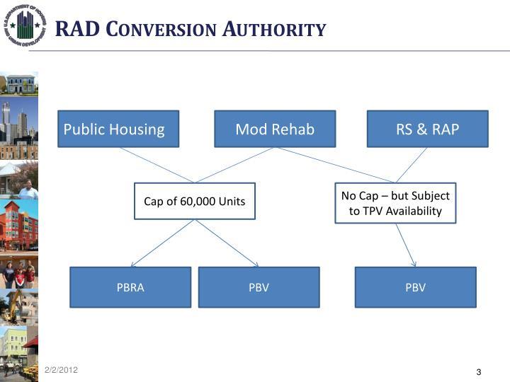 RAD Conversion Authority