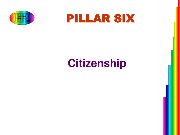 PILLAR SIX