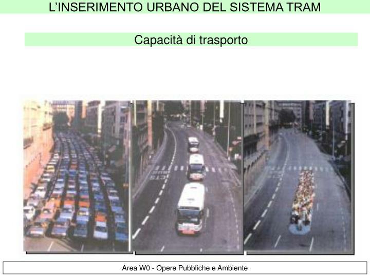 Capacità di trasporto