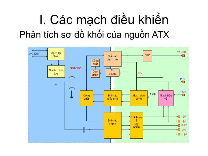 I. Các mạch điều khiển