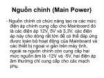 ngu n ch nh main power