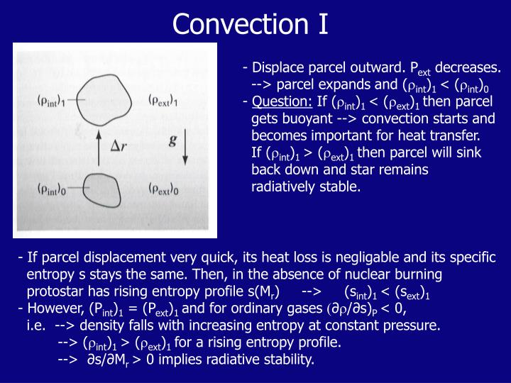Convection I