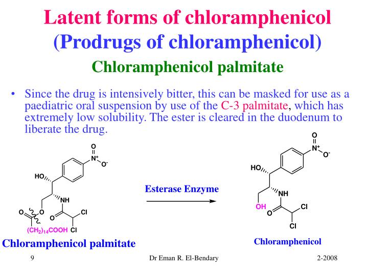 Chloramphenicol Palmitate Oral Suspension Dosage
