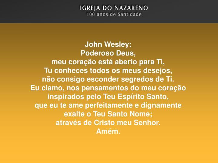 John Wesley: