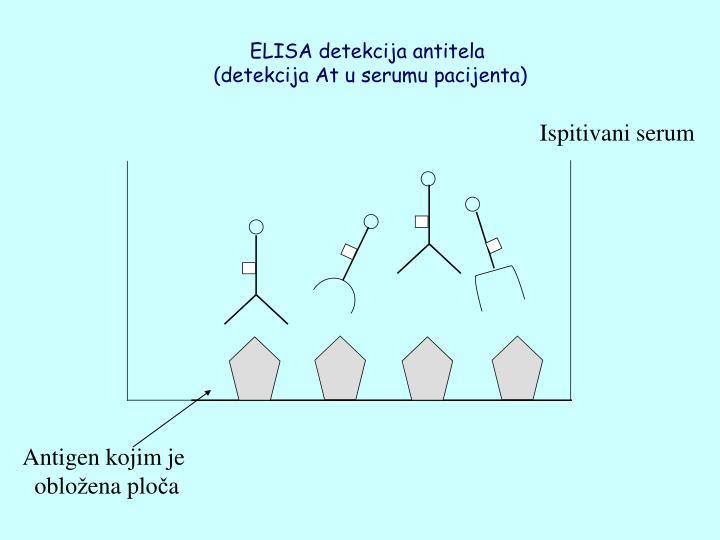 ELISA detekcija antitela
