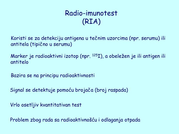 Radio-imunotest