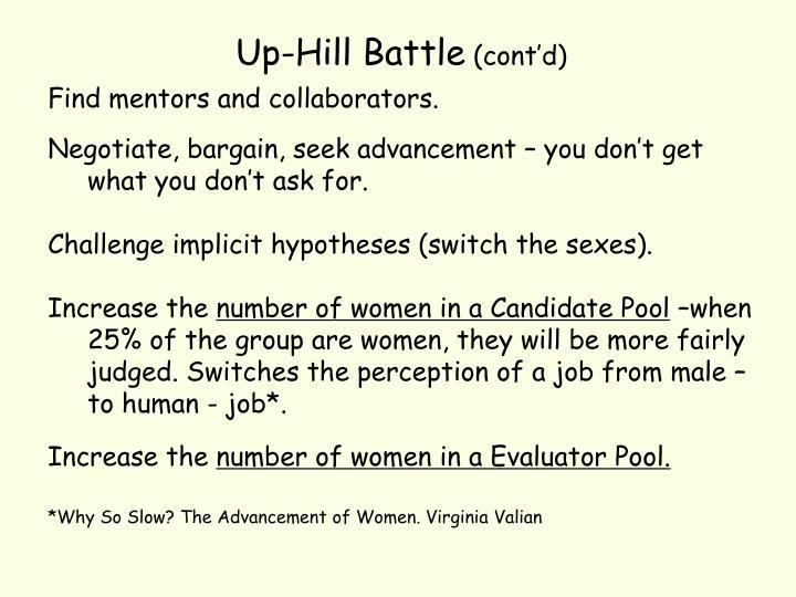 Up-Hill Battle