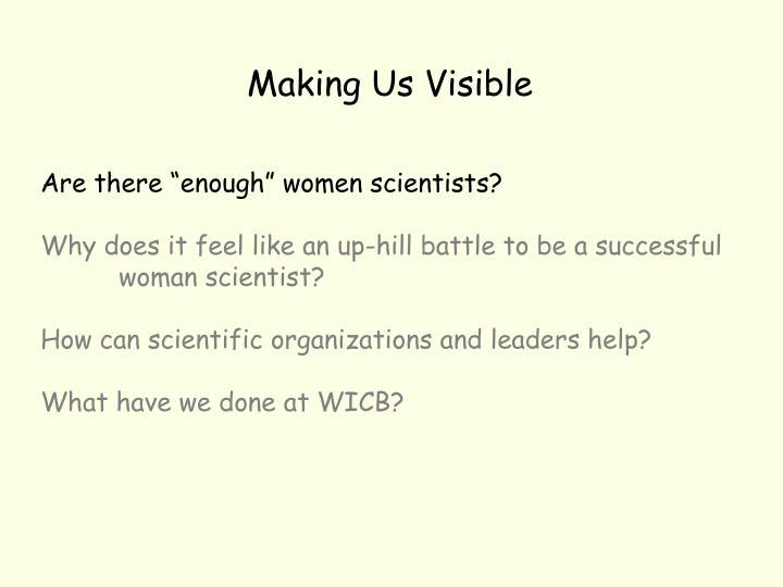 Making Us Visible