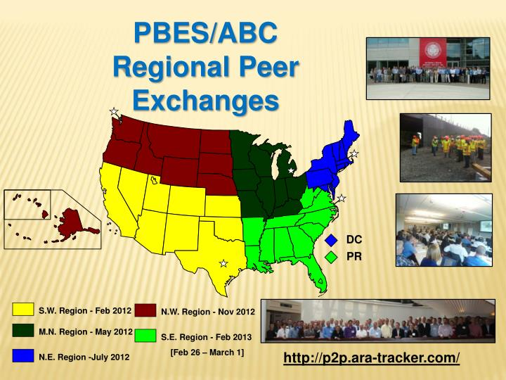 PBES/ABC Regional Peer Exchanges