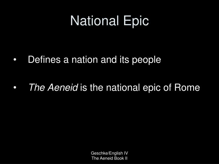 National Epic
