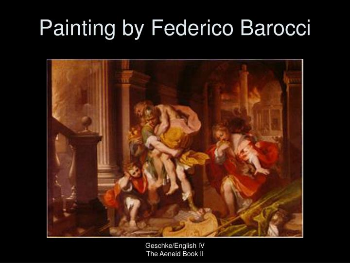 Painting by Federico Barocci