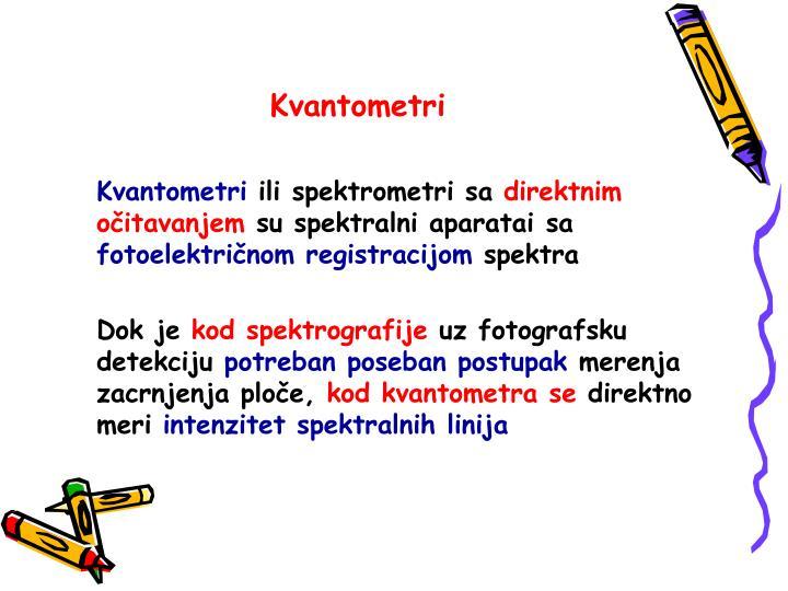 Kvantometri