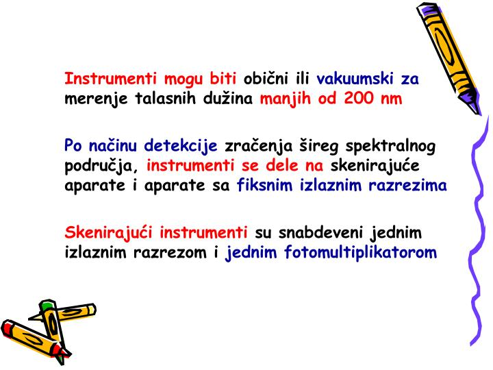 Instrumenti mogu biti