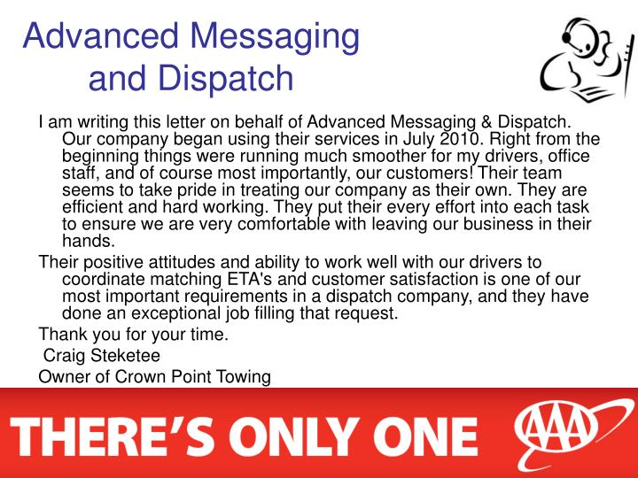 Advanced Messaging