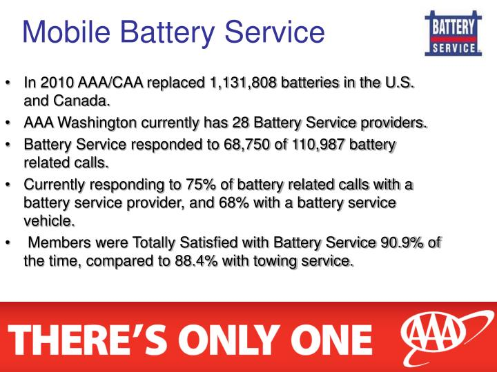 Mobile Battery Service