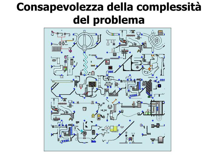 Consapevolezza della complessità del problema