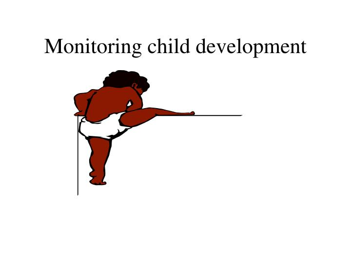 Monitoring child development