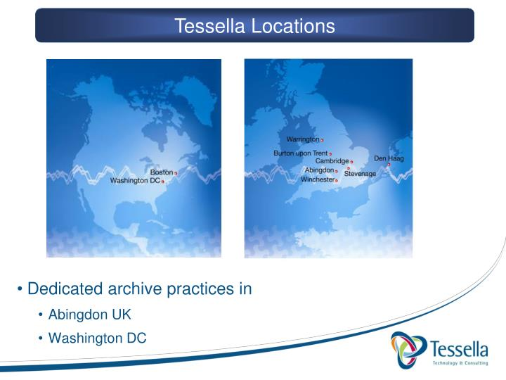 Tessella Locations