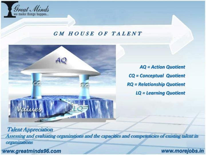 GM HOUSE OF TALENT