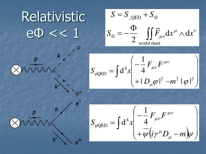Relativistic