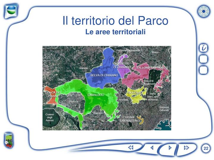 Il territorio del Parco
