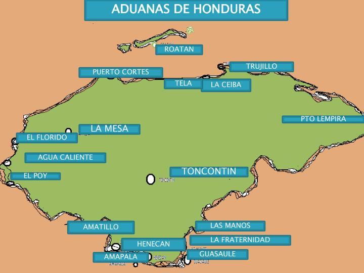 ADUANAS DE HONDURAS