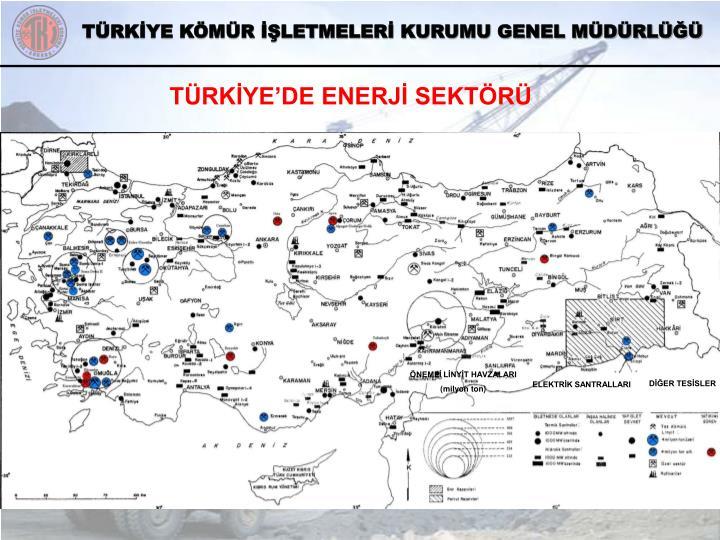 TÜRKİYE'DE ENERJİ SEKTÖRÜ