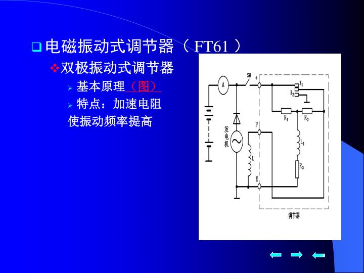 电磁振动式调节器(