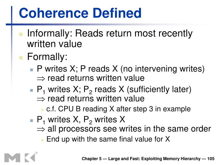 Coherence Defined