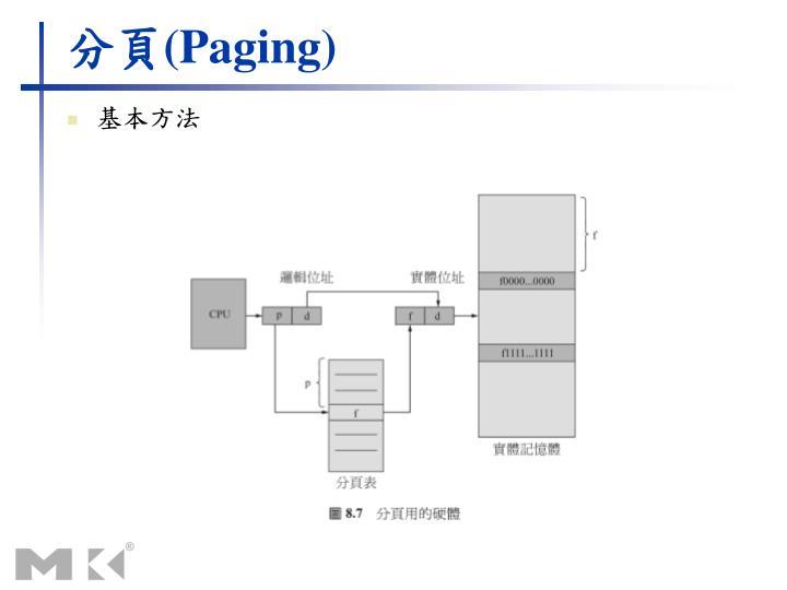 分頁(Paging)