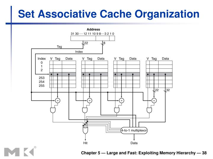 Set Associative Cache Organization