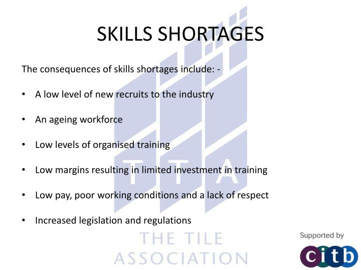 Skills shortages1