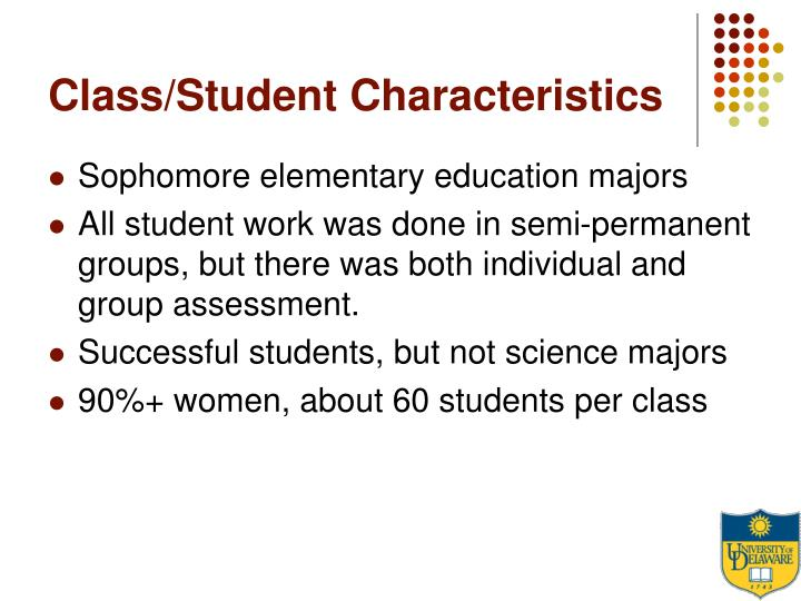 Class/Student Characteristics
