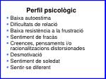 perfil psicol gic