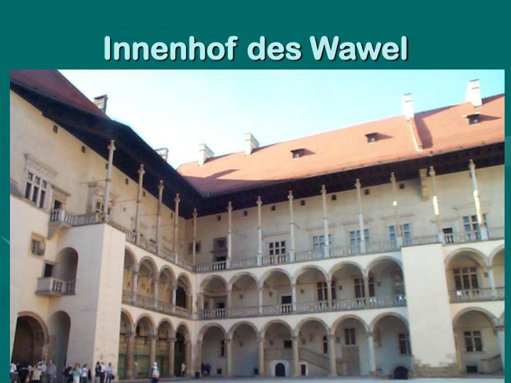 Innenhof des Wawel