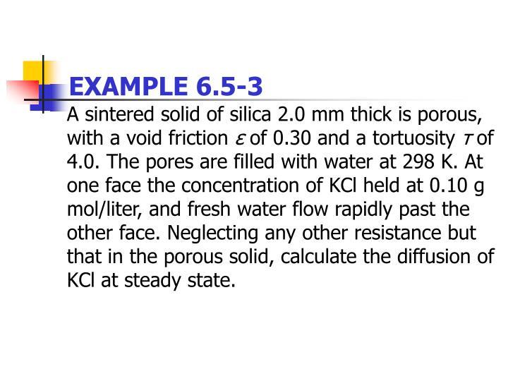 EXAMPLE 6.5-3