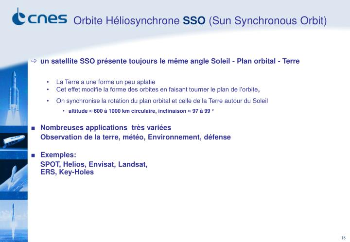 Orbite Héliosynchrone