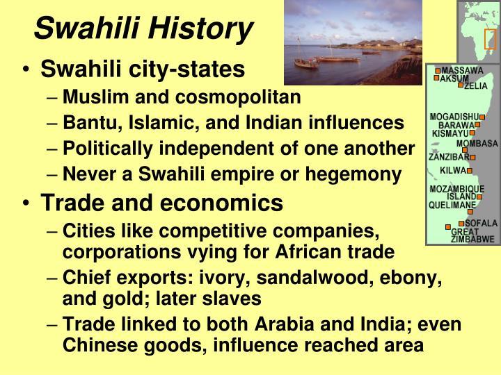 Swahili History