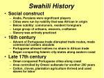 swahili history1