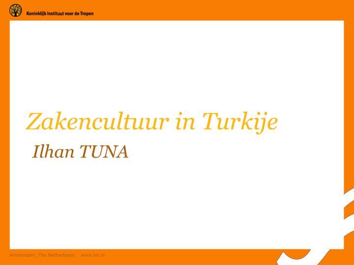 Zakencultuur in Turkije