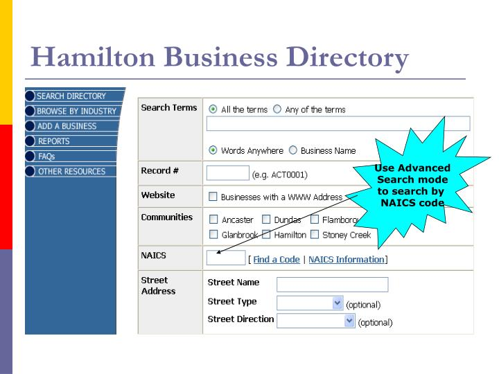 Hamilton Business Directory