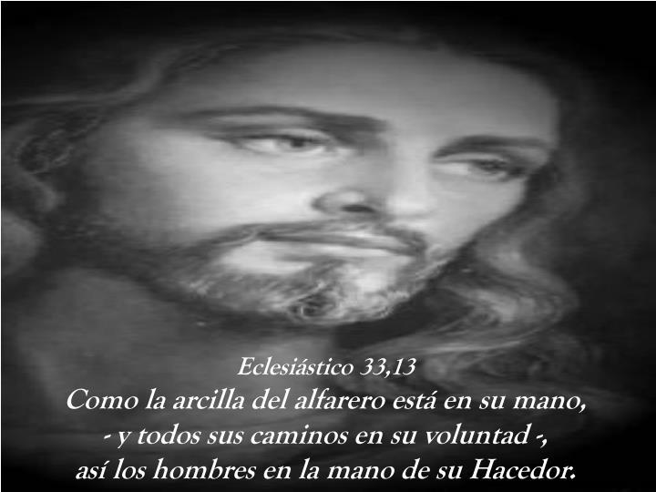 Eclesiástico 33,13