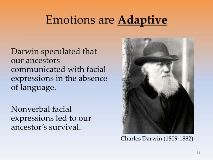 Emotions are