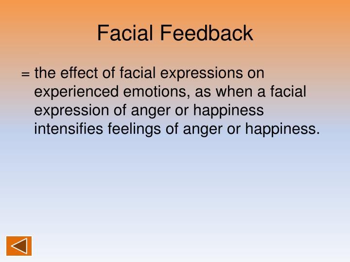 Facial Feedback