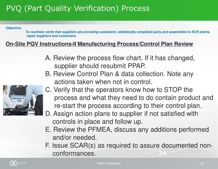 PVQ (Part Quality Verification) Process