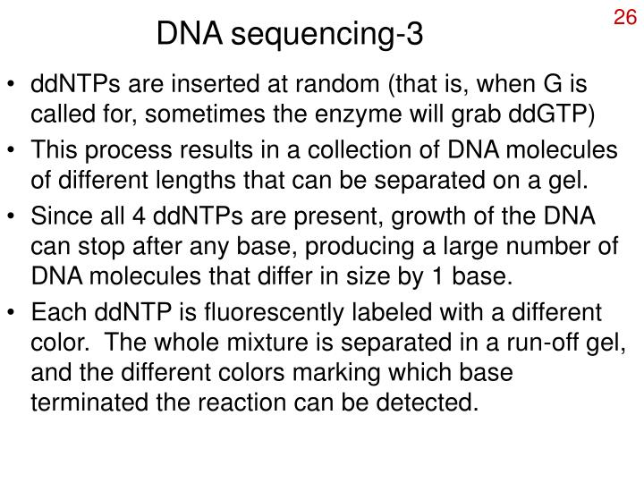 DNA sequencing-3