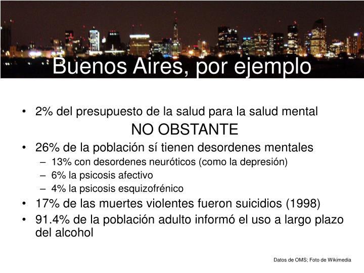 Buenos Aires, por ejemplo